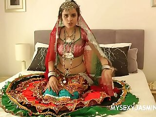Jasmine Mathur Porn Devi From Gujarat In Traditional Indian Garba Dress Rapine Naked