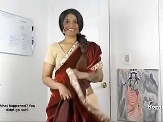 Horny Lily South Indian Florence Nightingale In Law Role Play With Tamil Misapplied Talking