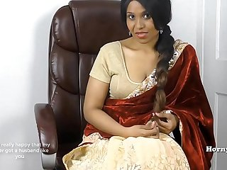 Horny South Indian sister in show roleplay in Tamil with subs