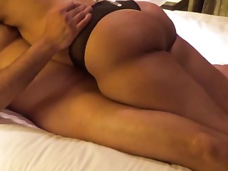 Indian Milf enjoying Sex relating to cane in a hotel.