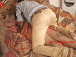 Aunty Romance with Anchor Boy Mirror Short Film